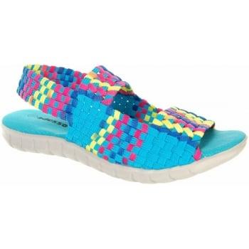 Adesso Betsy Aqua / Tutti Frutti (N5) A3721 Womens Sandals