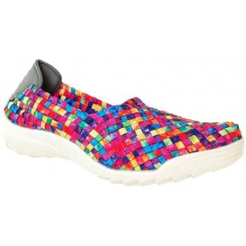Adesso Caitlin Tutti Frutti Washed (N102A) A4360 Womens Trainers