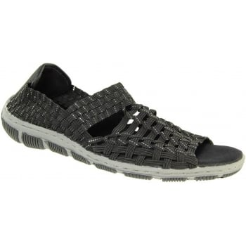 Adesso Gracie Black / Silver (N37) A4342 Womens Shoes