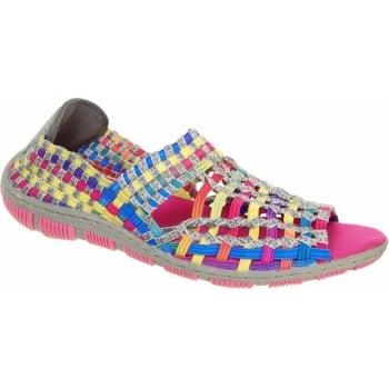 Adesso Gracie Tutti Frutti / Grey (SC4) A3725 Womens Shoes