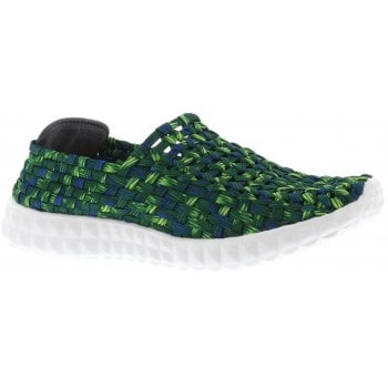 Adesso Kelly Green / Blue (F3) A4821 Womens Trainers