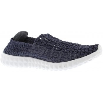Adesso Kelly Metallic Navy (K6) A4820 Womens Trainers