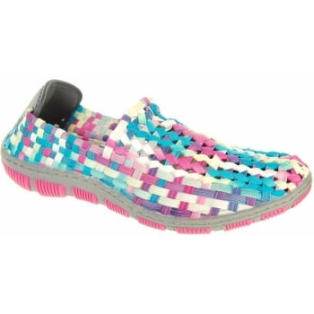 Adesso Layla Candy Crush (N102) A3732 Womens Shoes