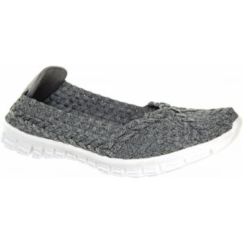 Adesso Lolly Grey (N58) A3785 Womens Shoes