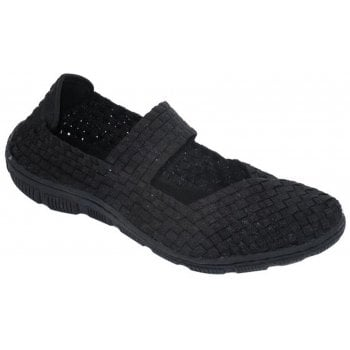 Adesso Lottie Black (B12) A4843 Womens Trainers