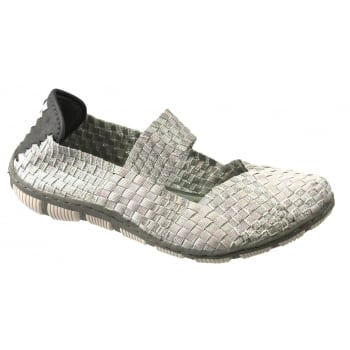 Adesso Lottie Pearl / Silver (N8) A3742 Womens Shoes