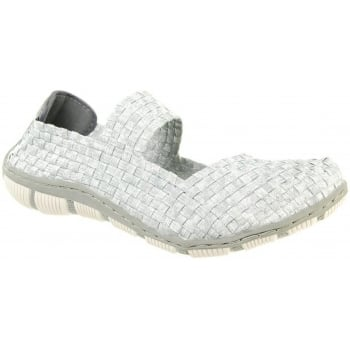 Adesso Lottie Smoked / Silver (N2) A4328 Womens Shoes