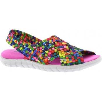 Adesso Sally Tutti Frutti 2 (F6) A5346 Womens Slingback Sandals