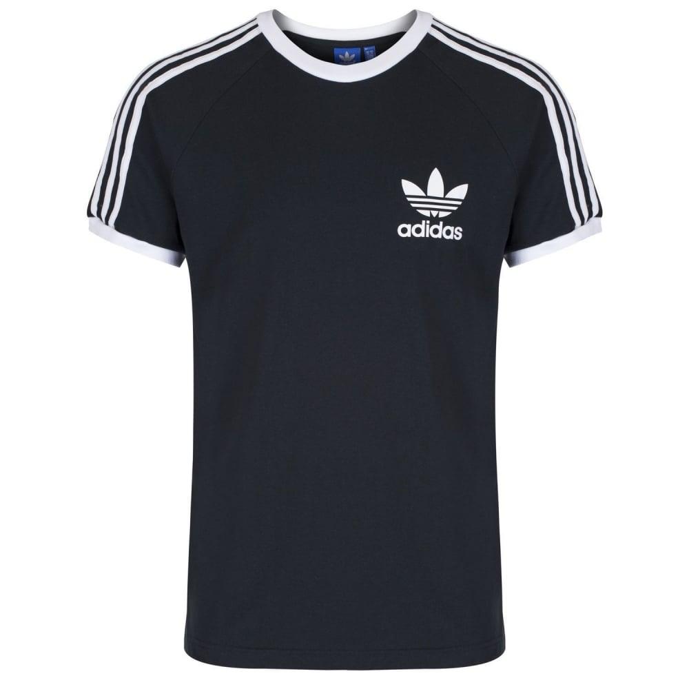 adidas trefoil t shirt 3 stripe