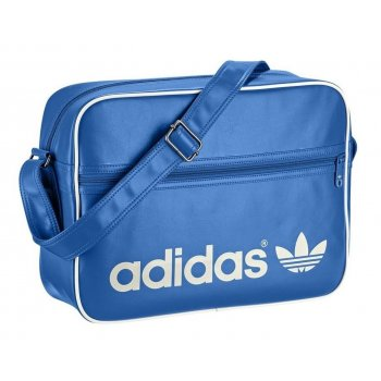 Adidas AC Airiner Blue / White (B35) Mens Messenger Shoulder Bag