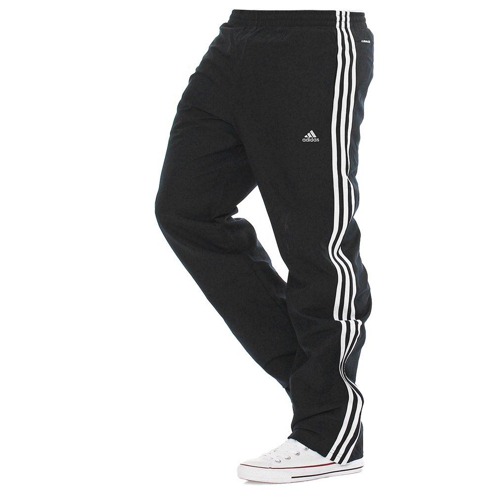 fba177667168 Adidas Essentials Climalite Black   White (B32) Mens Tracksuit Bottoms  Joggers