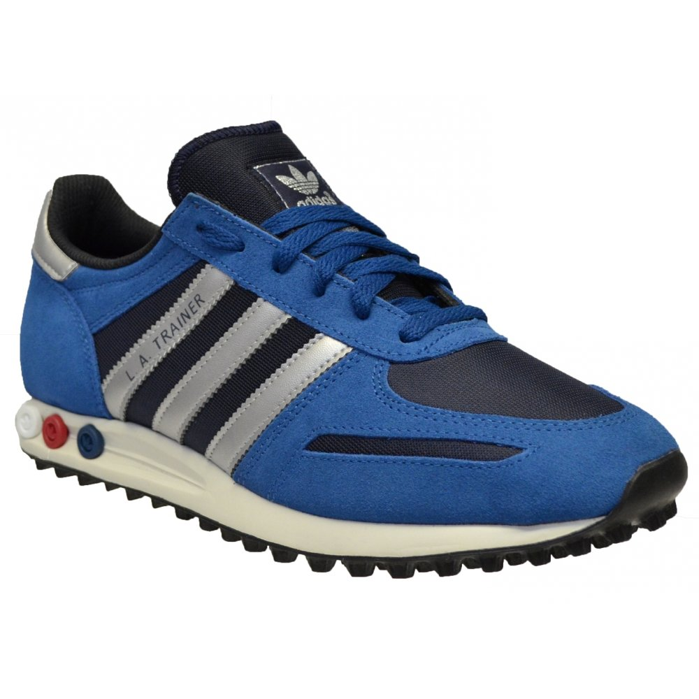 9f1a5d309585 Adidas Adidas LA Legink   Blue (Z20) D65665 Mens Trainers - Adidas ...