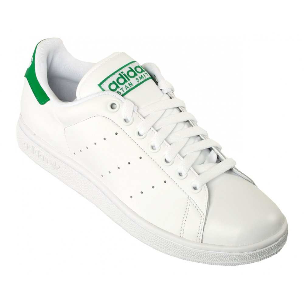 Adidas Stan Smith 2 White / Green (B13) G17079 Mens Trainers ...