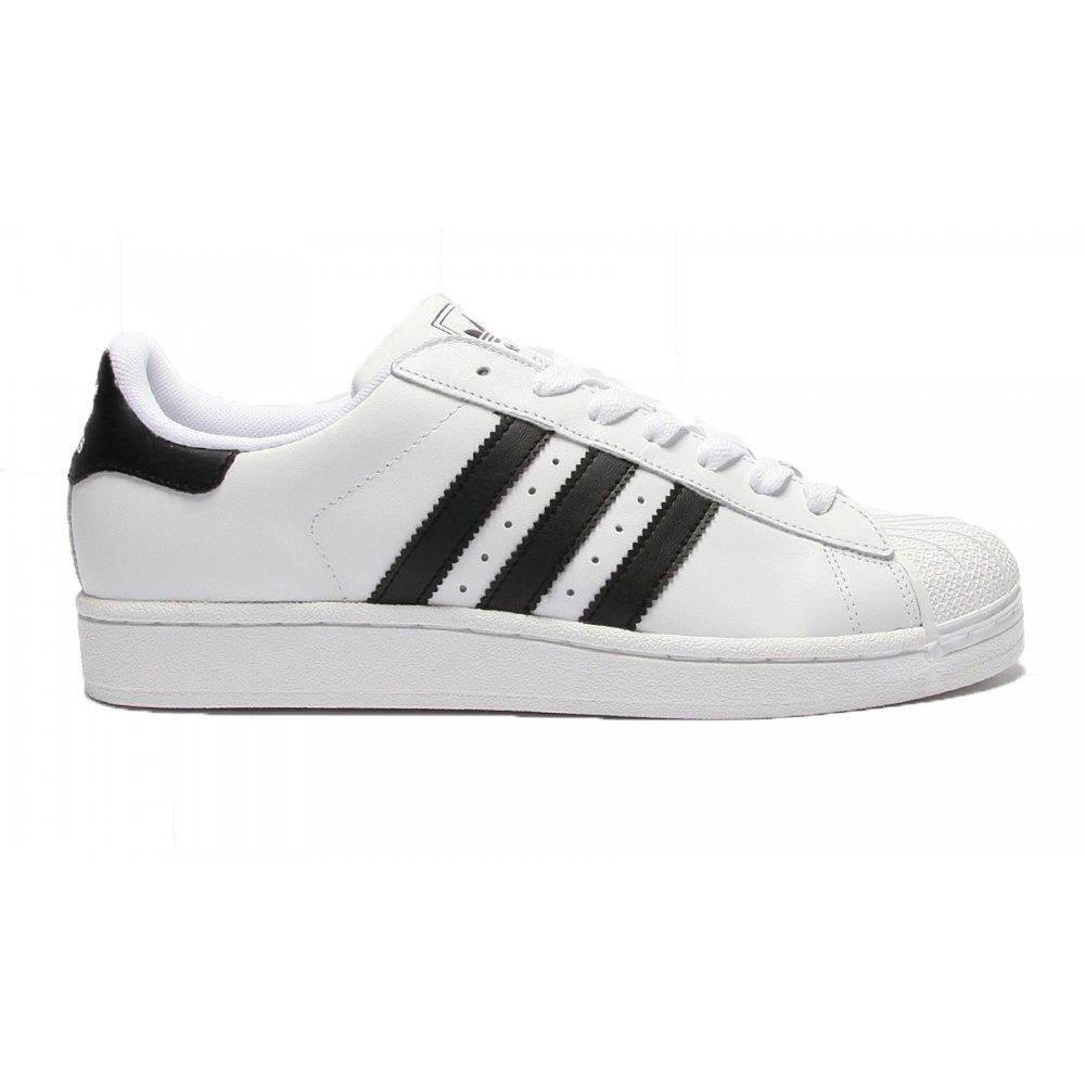 Adidas Superstar 2 Menns Alle Hvite ar2s1Hozr