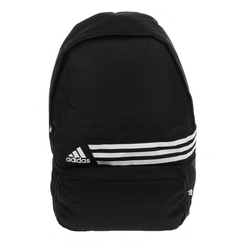 2c88ae236ee7 ... Adidas DER BP M 3S Black   White (A51) G74344 School Backpack   Rucksack  ...