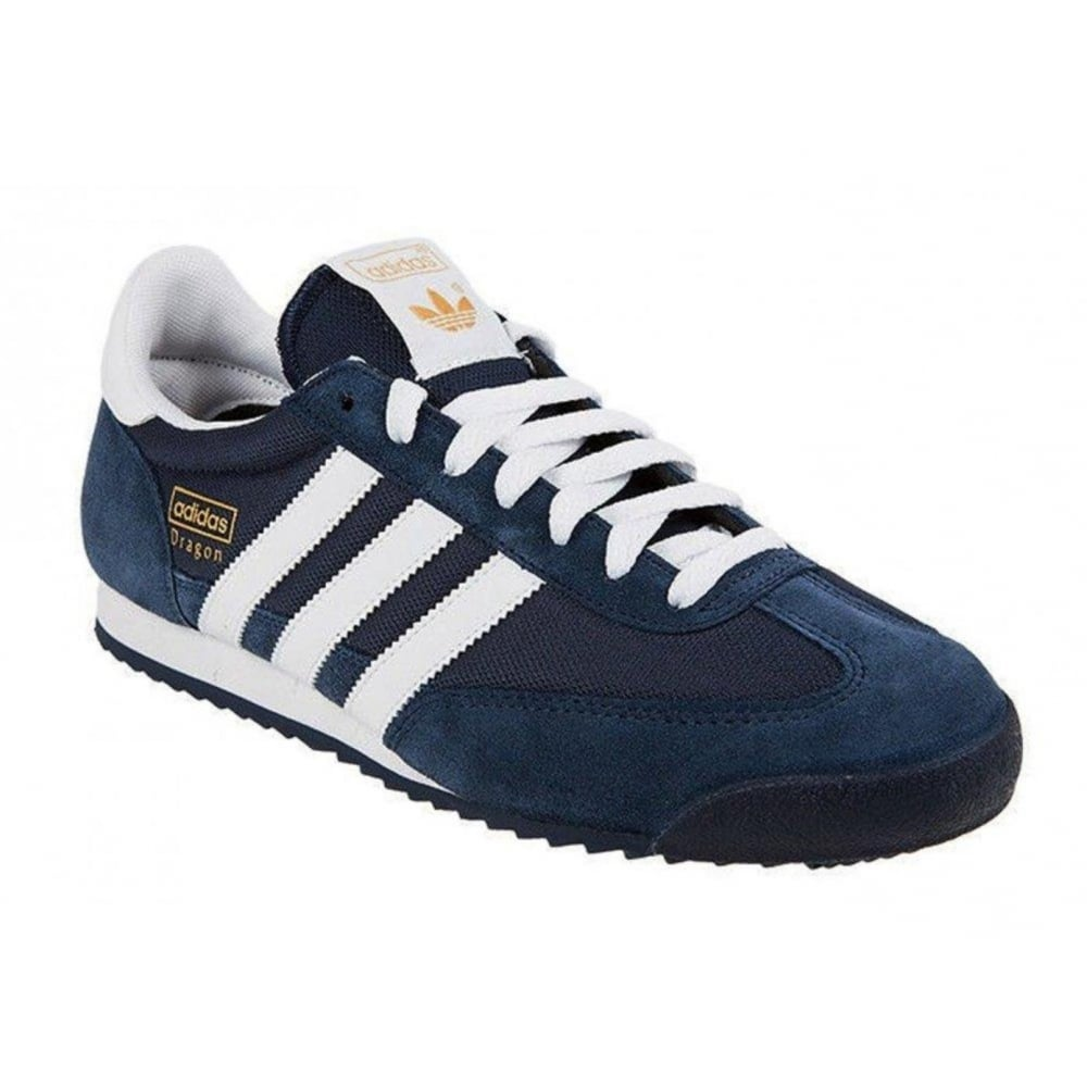 adidas dragon trainers navy