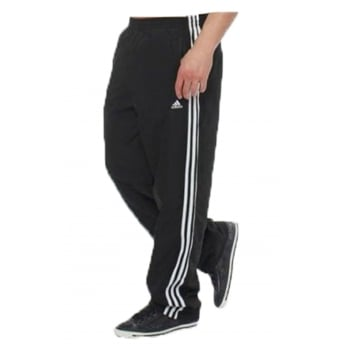 Adidas Essentials 3S Basic Black  / White (Z100) 673935 Mens Tracksuit Bottoms Joggers