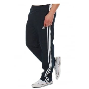 Adidas Essentials 3S Basic Dark Navy / White (Z28) 673934 Mens Tracksuit Bottoms Joggers