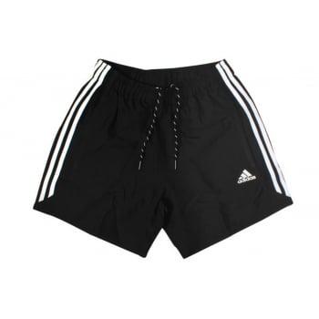 Adidas Essentials Chelsea 3-Stripes Black / White (P30) S88113 Mens Shorts