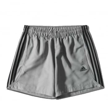 Adidas Essentials Chelsea 3-Stripes Grey / Black (P6) S17883 Mens Shorts