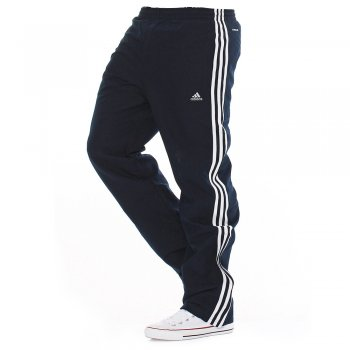 Adidas Essentials Climalite Dark Navy / White (T3b) Mens Tracksuit Bottoms Joggers