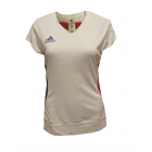 Adidas FR Tennis White / College Red (B13) 311974 Ladies Polo Shirts