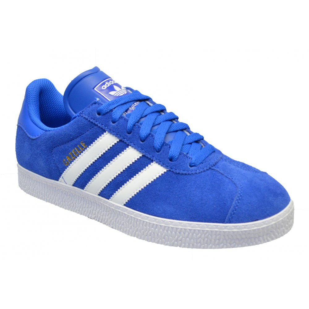 d1604670 Adidas Adidas Gazelle 2 Suede Royal Blue / White (Z30) G96680 Mens ...