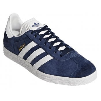 Adidas Gazelle Nubuck Navy / White (Z108) BB5478 Mens Trainers