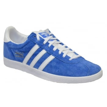 Adidas Gazelle OG Suede Blue / White (Z17) G16183 Mens Trainers
