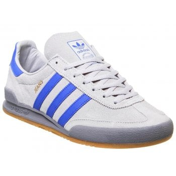 Adidas Jeans Trainers Suede Grey / Blue (Z100) CQ2769 Mens Trainers