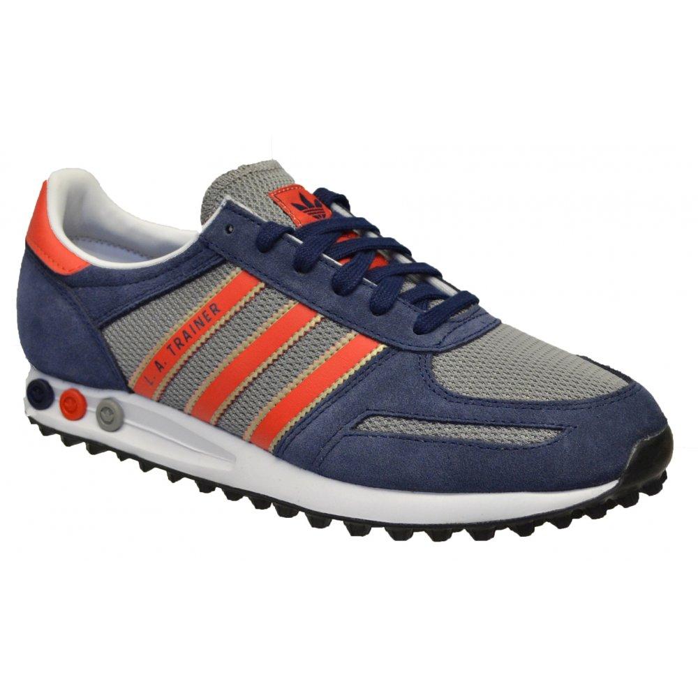 874ad817f1a2 Adidas Adidas LA Navy   Red (N17b) M29507 Mens Trainers - Adidas ...