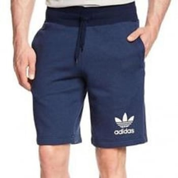 Adidas Original 3 Stripes Essential Denim Blue (Z30) S19058 Mens Shorts Casual Fleece Sports Shorts