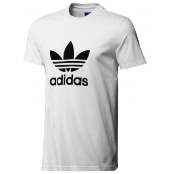 Adidas Original Trefoil Tee White (A50) AJ8828 Mens Short Sleeve T-Shirts