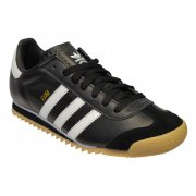 Adidas Rom Leather Black / White (Z160) G44184 Mens Trainers