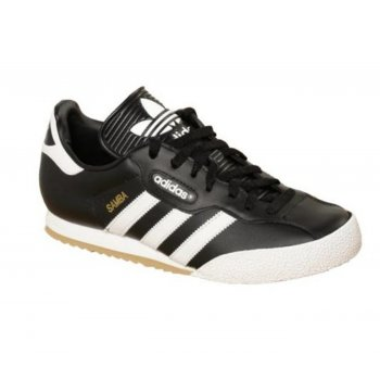 Adidas Samba Super Leather Black / White (Z30) 019099 Mens Trainers