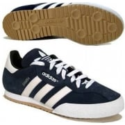 Adidas Samba Super Suede Navy / White (Z151)  019332 Mens Trainers