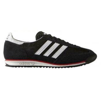 Adidas SL 72 Black / White / Red (Z1) S78997 Mens Trainers