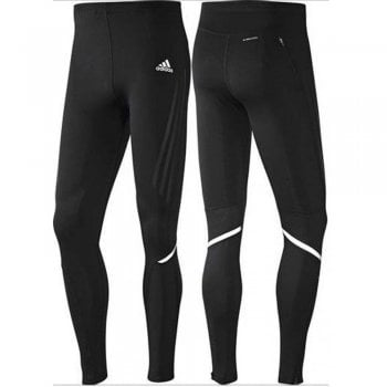 Adidas SN Lo Compression Long Fitted Black (Z30) O04577 Mens Running Tights