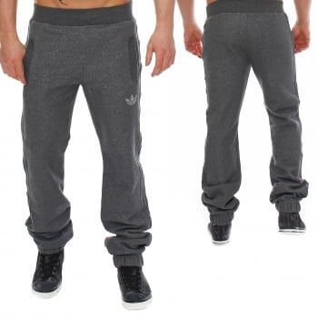 Adidas SPO Fleece Charcoal (Dark Grey) (Z107) Z38535 Mens Bottoms Tracksuit Trousers Pant