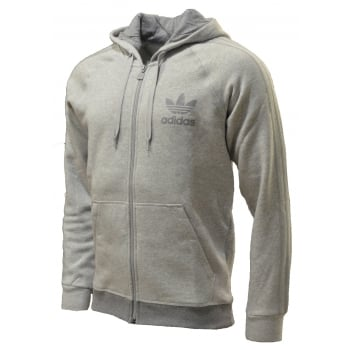 Adidas SPO Hooded Retro FZ Fleece Grey (Z103) AB7587 Mens Tracksuit Top