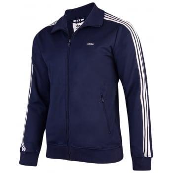 Adidas SPO Originals Beckenbauer Navy (A5) AB7766 Mens Sport Zip Up Tracksuit Top
