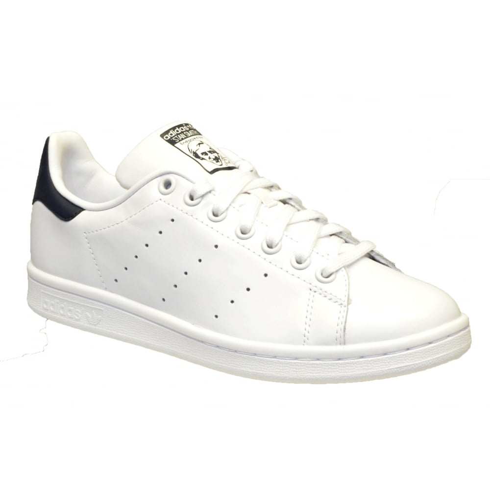 adidas Stan Smith White Red Mens Trainers Size 9.5 UK L2rNvLYM