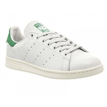 Adidas Stan Smith White / Green (G2) D67361 Mens Trainers