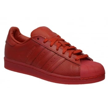 Adidas Superstar Adicolor Scarlet / Red (N52) S80326 Mens Trainers