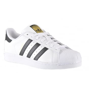 Adidas Superstar White / Black (SC-C4 / Z7) C77124 Mens Trainers