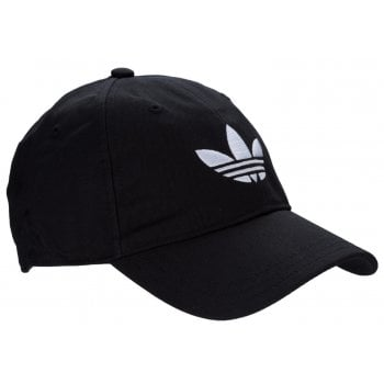 Adidas Trefoil AJ8941 Black Cotton Cap (B10)