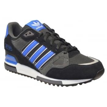 Adidas ZX 750 Suede Black / Blue / White (Z21 / Z113) M18261 Mens Trainers