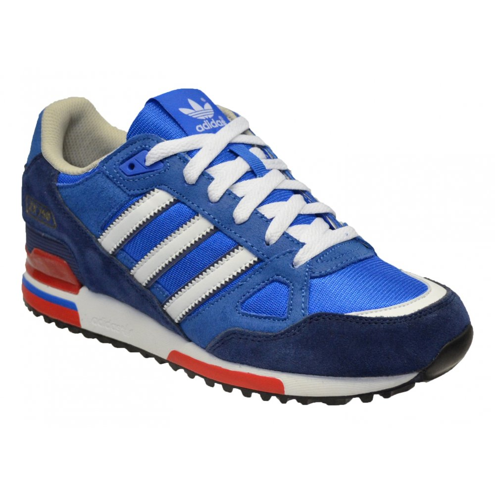 buy popular 8269b 4cbfa ... ireland adidas zx 750 suede royal white z30 g96718 mens trainers 5052a  88f32