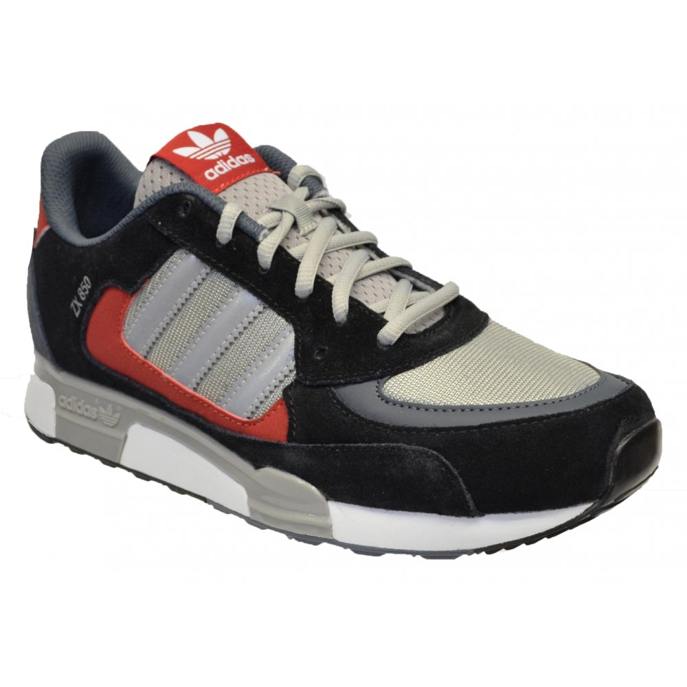 Adidas ZX 850 Black / Silver / Red (SC-B4) M25741 Mens Trainers ...