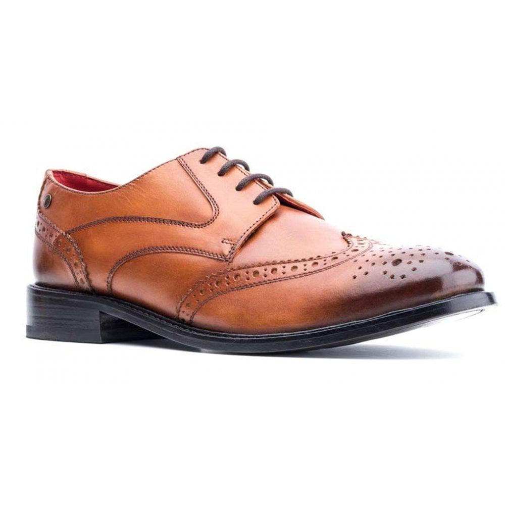 Base London Twist MTO Black Z169 Lace up Mens Shoes All Sizes